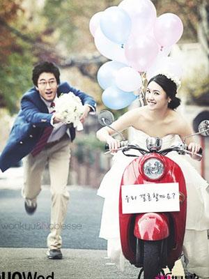 2013年最流行的5大婚纱照风格