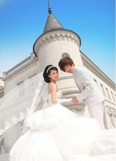 欧式风格婚纱照 浪漫复古