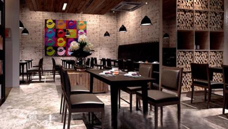 咖啡厅装修设计效果图咖啡店装修装修效果图 (456 * 259)