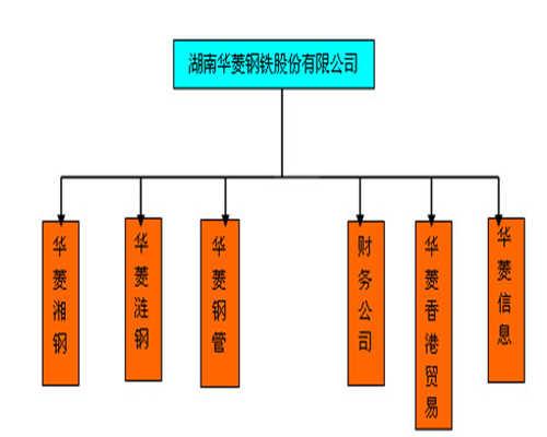 华菱钢铁组织框架